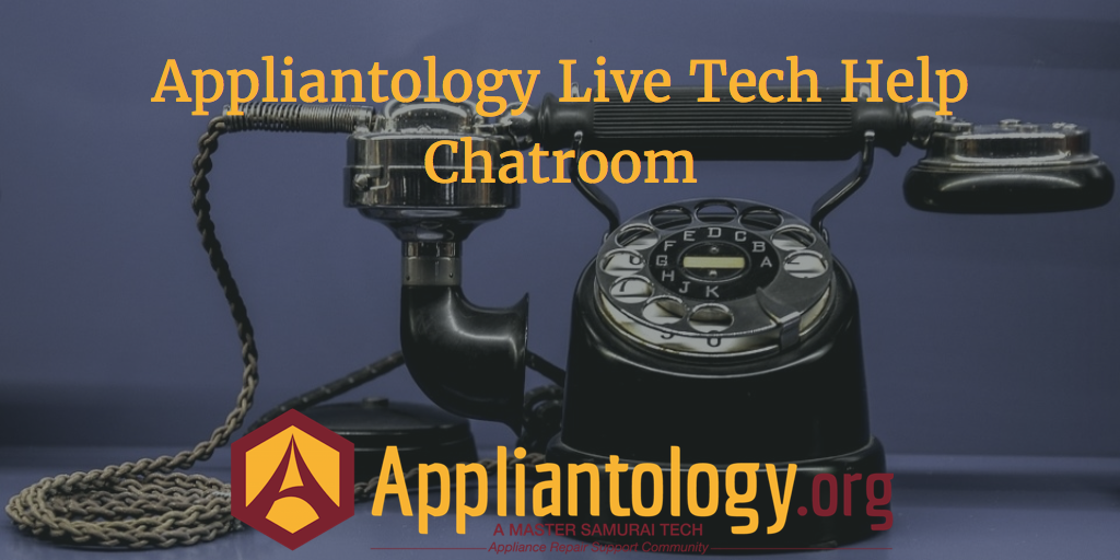 Appliantology Appliance Repair Chatroom